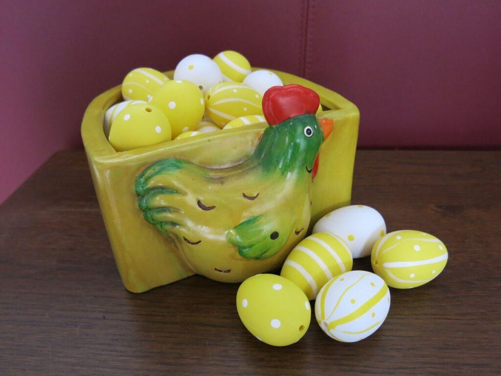Gehäkelte Eier