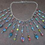 Türkisfarbenen Perlen