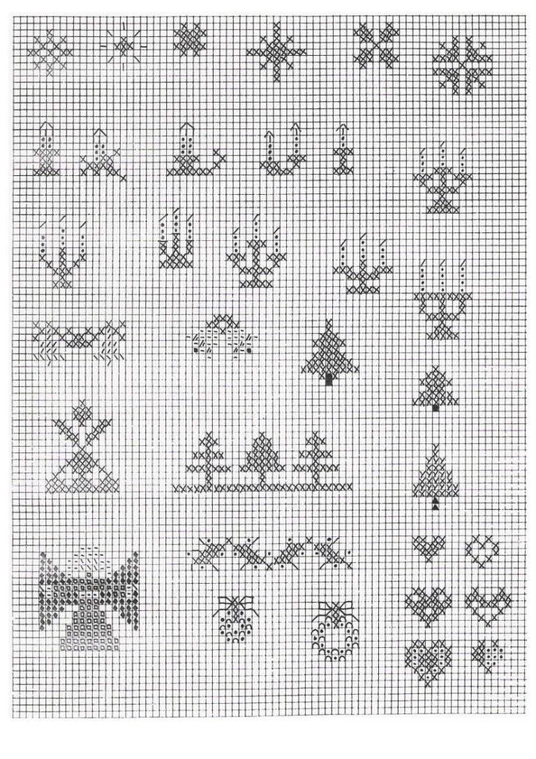 Weihnachten Muster