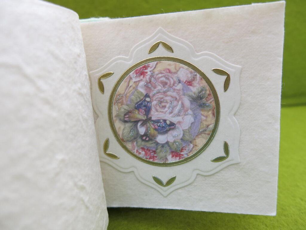 Mappe mit Büttenpapier
