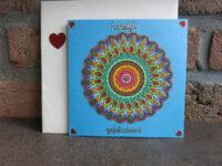 Mandala Färben und Dekorieren