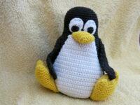 Pinguin Tux häkeln