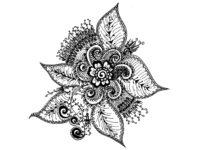 Eigene Tangle-Kreationen